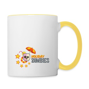 Holiday Zombies Logo - Taza en dos colores