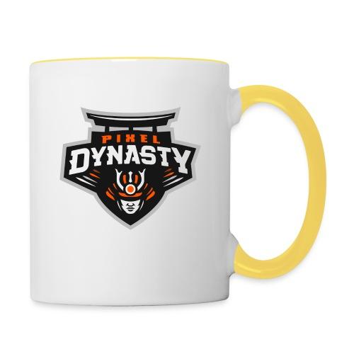 logo transparent - Contrasting Mug