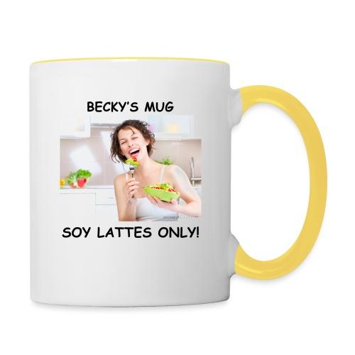 Becky's Mug - Contrasting Mug