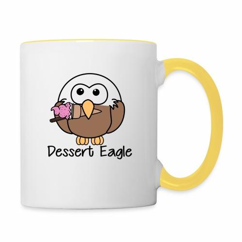 Dessert Eagle - Contrasting Mug