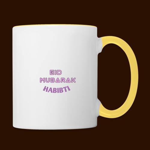 Eid Mubarak Mug - Contrasting Mug