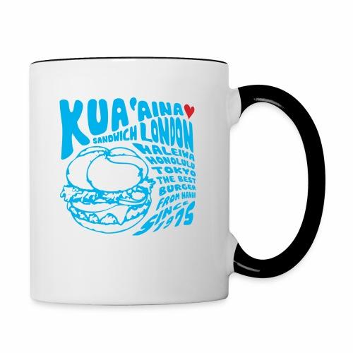 Kua 'Aina Blue - Contrasting Mug