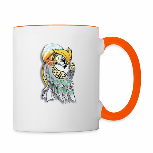 Cosmic owl - Taza en dos colores