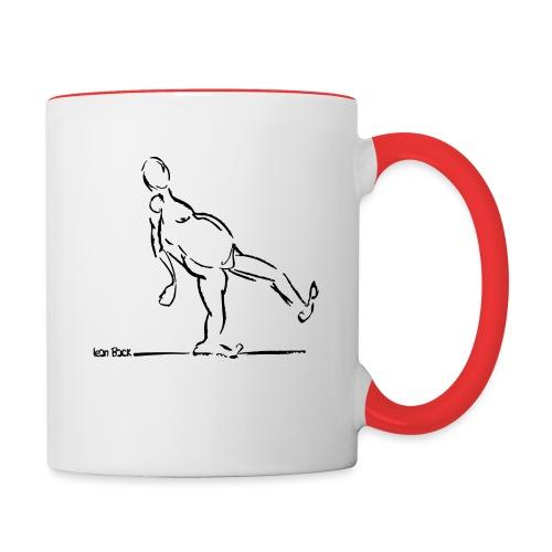 Lean Back Doodle - Contrasting Mug