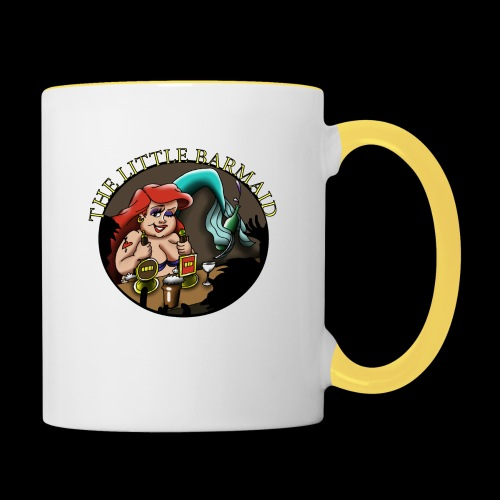 The Little Barmaid - Contrasting Mug