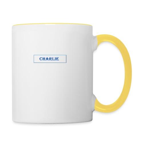Charlie - Contrasting Mug