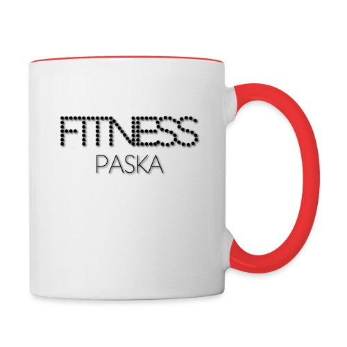 FITNESS PASKA - Kaksivärinen muki