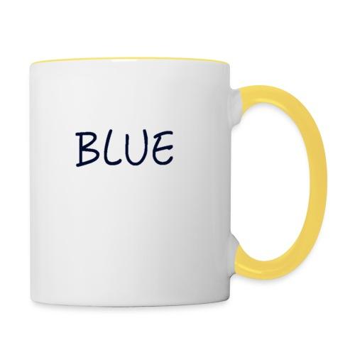 BLUE - Mok tweekleurig