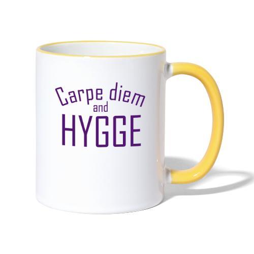 HYGGE Carpe diem - Tasse zweifarbig