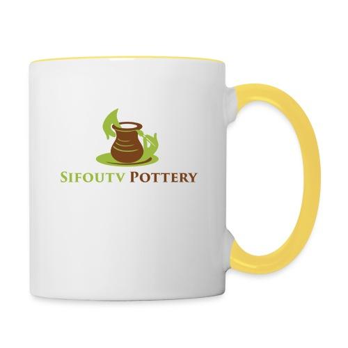 Sifoutv Pottery - Contrasting Mug