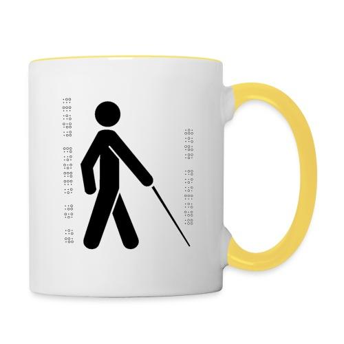 Blind T-Shirt - Contrasting Mug