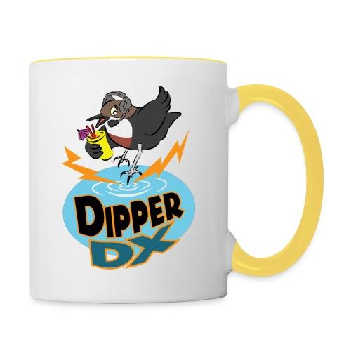 DipperDX logo trans 600dpi png - Contrasting Mug