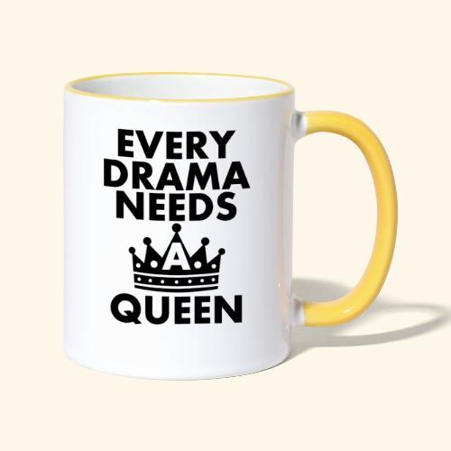 EVERY DRAMA black png - Contrasting Mug