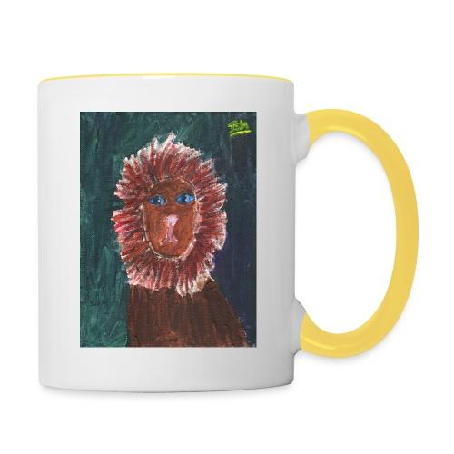 Lion T-Shirt By Isla - Contrasting Mug