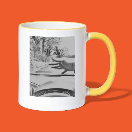 Well wave T-Shirt - Contrasting Mug