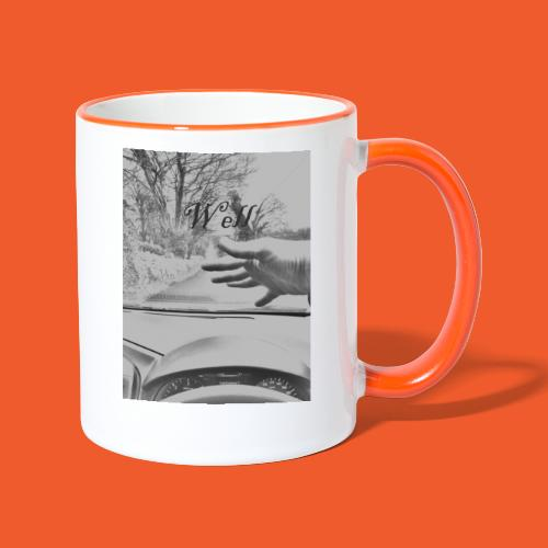 Well wave T-Shirt - Contrasting Mug