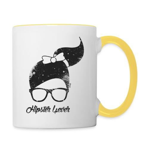 Hipster forever (F) - Mug contrasté