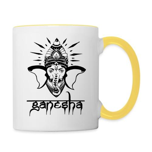Ganesha - Tasse zweifarbig
