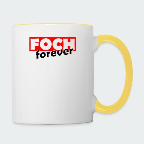Damska Koszulka Premium FOCH - Kubek dwukolorowy