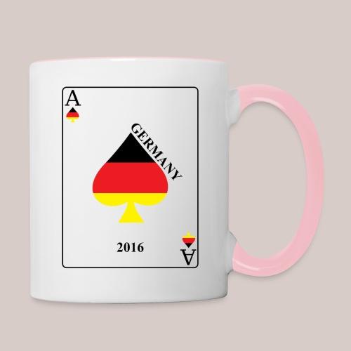 Deutschland - Tasse zweifarbig