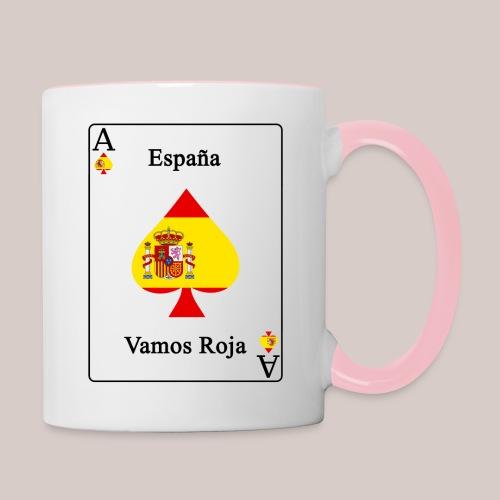 Spanien - Tasse zweifarbig