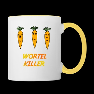 Wortel Killer [Kids Premium T-Shirt] - Mok tweekleurig