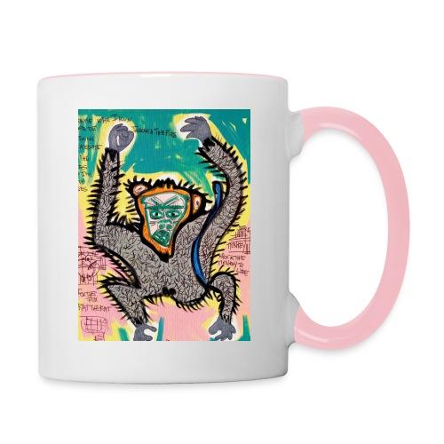the monkey - Tazze bicolor