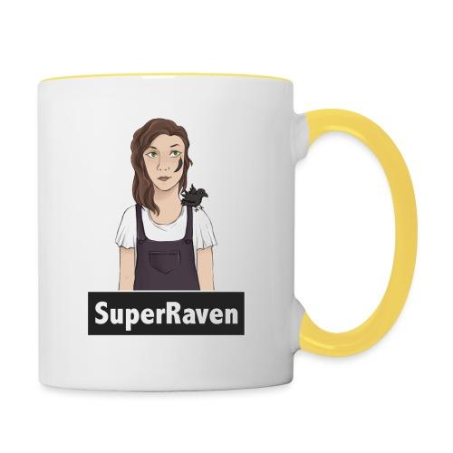 SuperRaven - Contrasting Mug