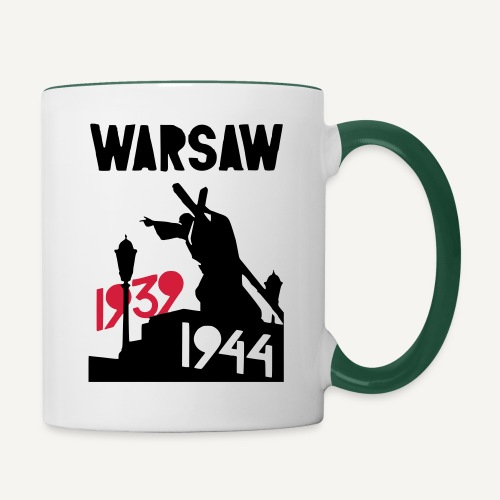 Warsaw 1939-1944 - Kubek dwukolorowy
