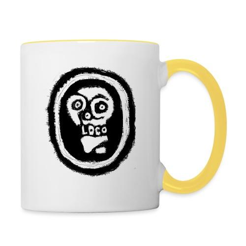 Poco Loco..its got a ring to it - Contrasting Mug