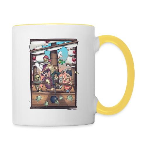 les pirates - Mug contrasté