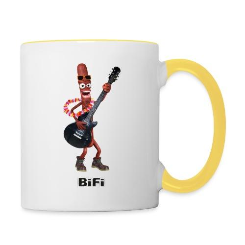 BiFi T-Shirt Men - Contrasting Mug