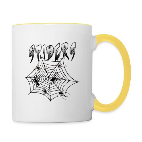 Spiders - Kaksivärinen muki