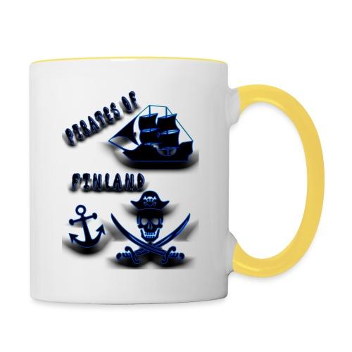 Pirates - Kaksivärinen muki