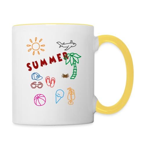 Summer - Kaksivärinen muki