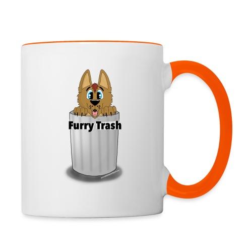 Furry Trash - Tofarvet krus