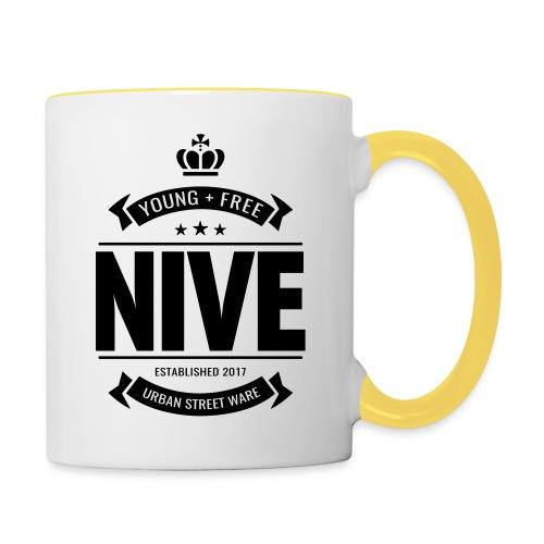 NIVE - Tasse zweifarbig
