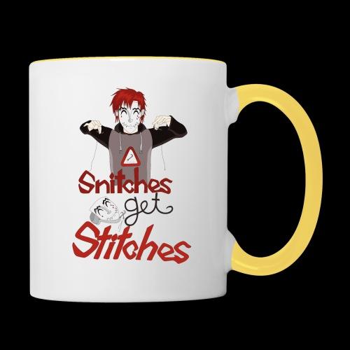 SGS Creepy Smile - Tasse zweifarbig