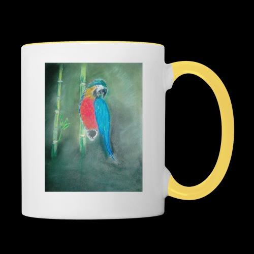 Perroquet des iles - Mug contrasté