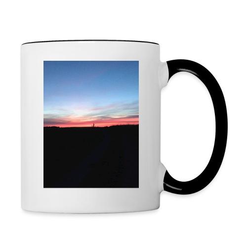 late night cycle - Contrasting Mug