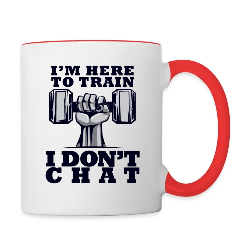 Train Chat - Kaksivärinen muki