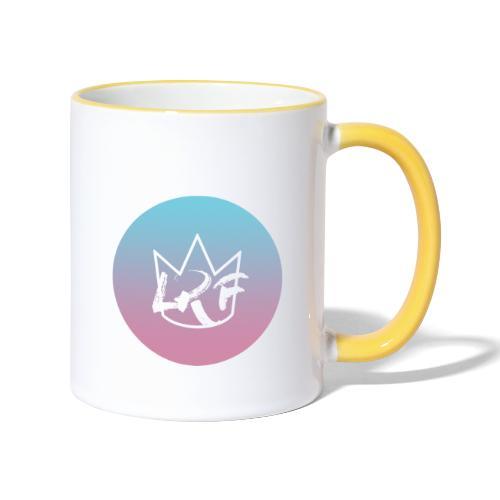 logo lrf rondcasquette - Mug contrasté