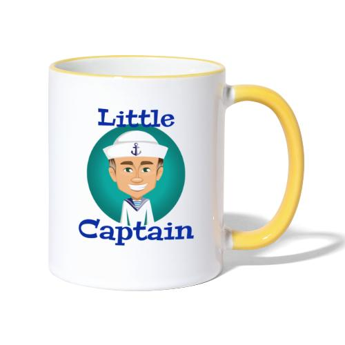 Little Captain - Tasse zweifarbig