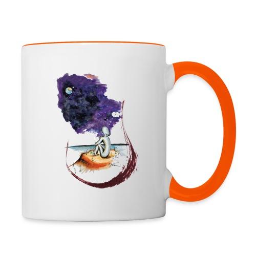Extraterrestre en contemplation - Mug contrasté