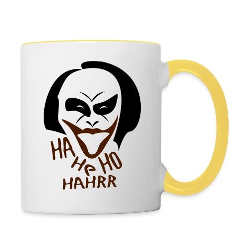 Joker - Lache - Tasse zweifarbig