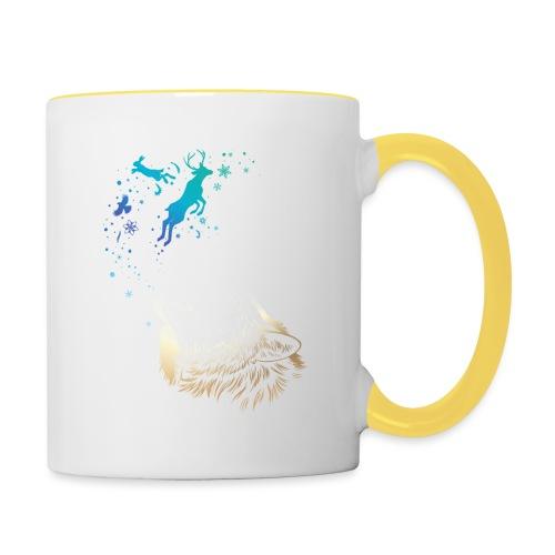 Winterruf - Tasse zweifarbig