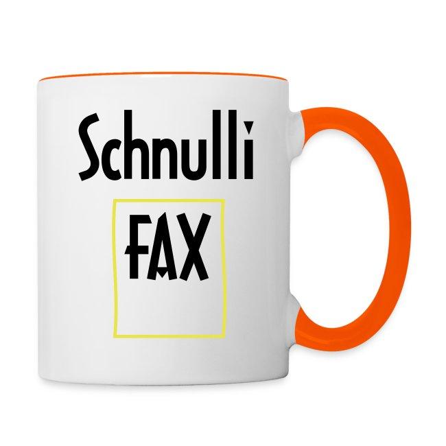 Schnullifax Schnulli per Fax Papier Blatt