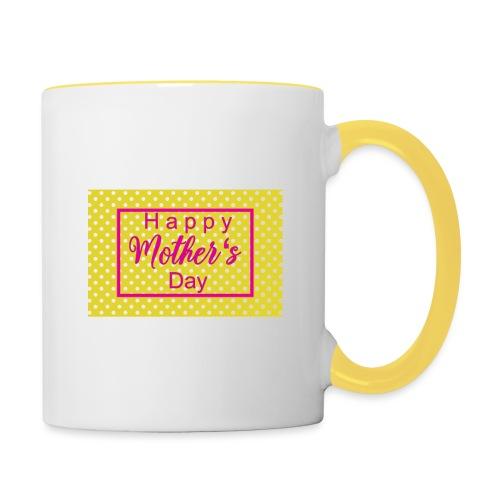 Muttertag - Tasse zweifarbig