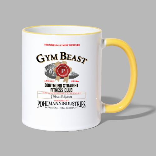 GYM BEAST - Tasse zweifarbig