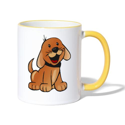 cartoon dog - Tazze bicolor
